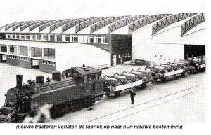 Nieuwe tractoren verlaten de fabriek